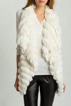 Shoptiques Product: White Fur Vest