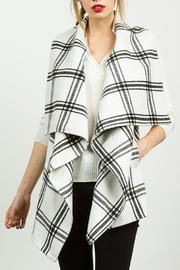 TCEC White Plaid Vest - Product Mini Image