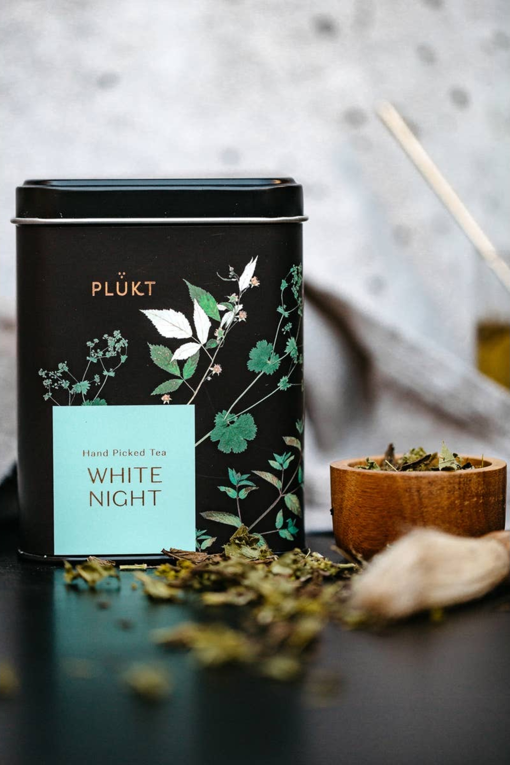 Plukt Tea Blend White Night - Back Cropped Image