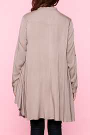 Tea n Rose Blush Pink Top - Back cropped