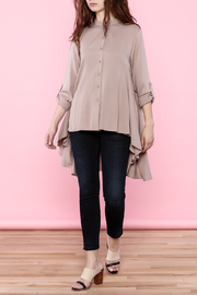 Tea n Rose Blush Pink Top - Front full body