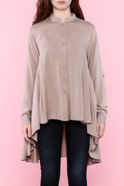Tea n Rose Blush Pink Top - Side cropped