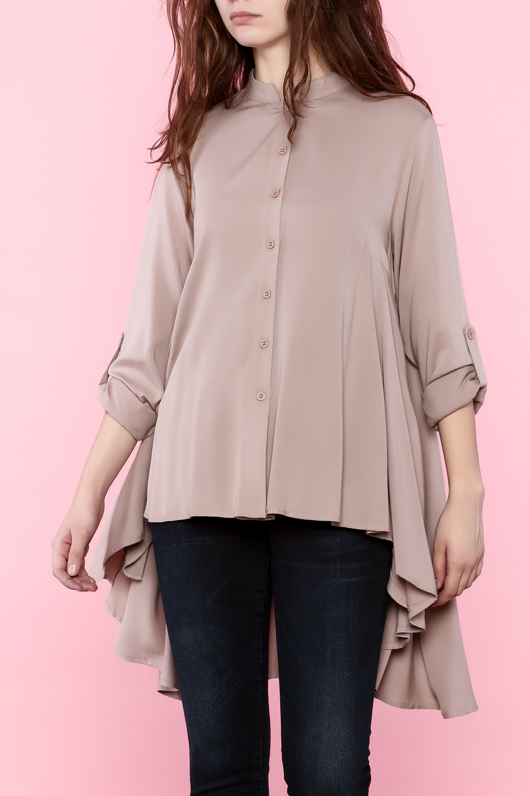 Tea n Rose Blush Pink Top - Main Image