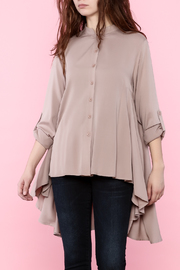 Tea n Rose Blush Pink Top - Front cropped