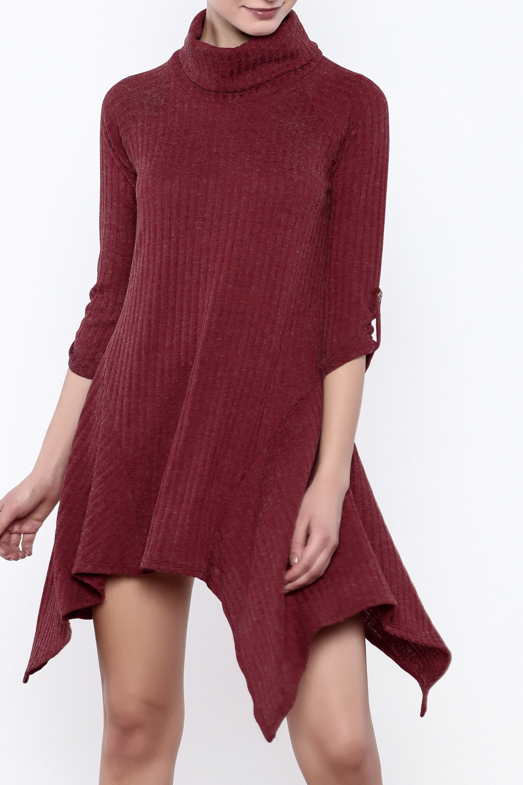 Tea n rose knit sweater dress from tennessee by white lily for Sweater over wedding dress