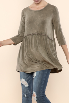 Shoptiques Product: Mineral Wash Boho Top