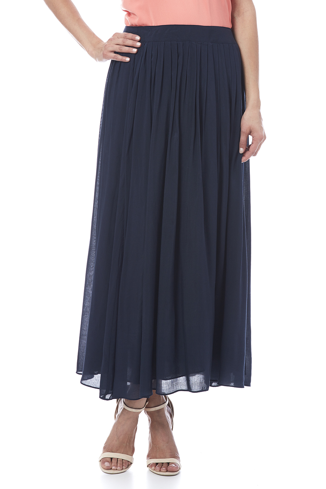 Tea n Rose Pleated Maxi Skirt from Kansas by Bella Rose Boutique ...