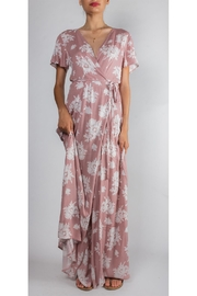 rokoko Tea-Party Floral Wrap-Dress - Product Mini Image