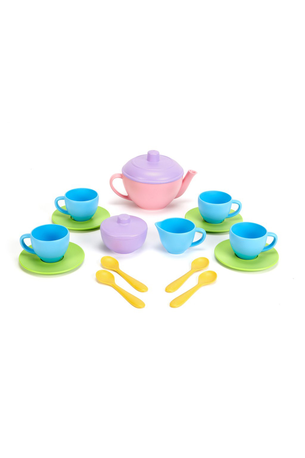 Green Toys Tea Set - Front Cropped Image