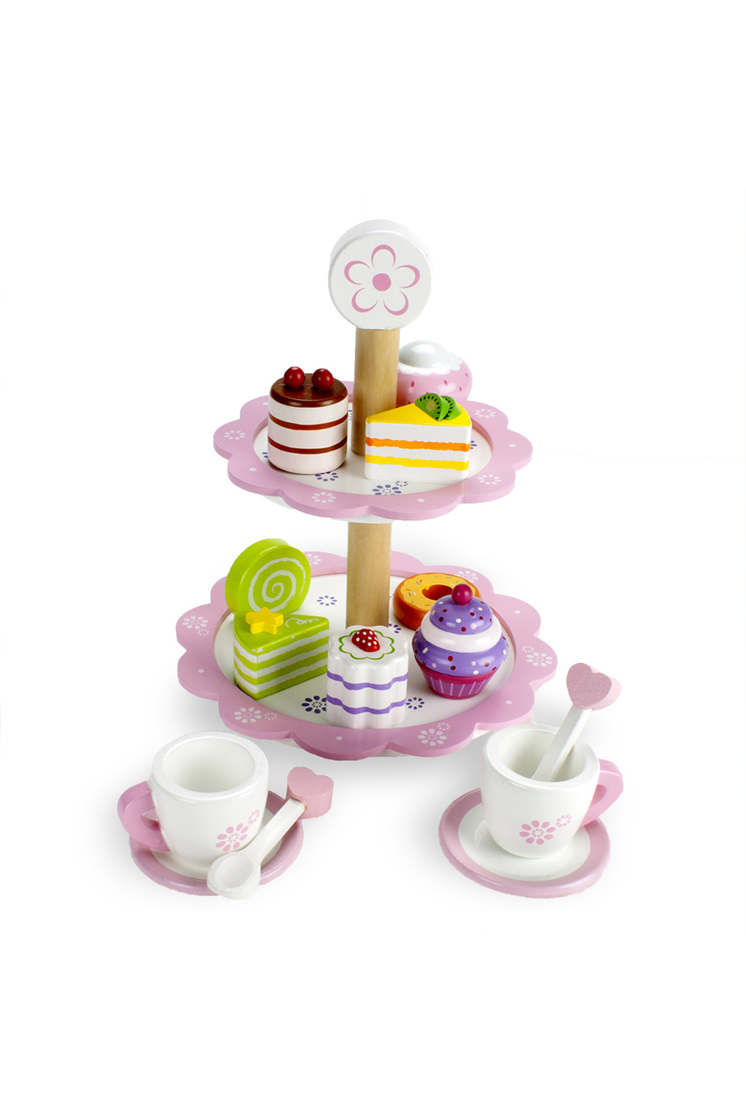 Brybelly Tea Time Pastry Tower - Main Image