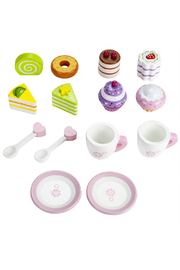 Brybelly Tea Time Pastry Tower - Front full body