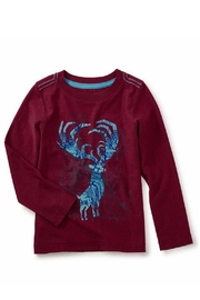 Tea Collection Antlers Graphic Tee - Front cropped
