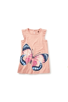 Shoptiques Product: Butterfly Graphic Dress
