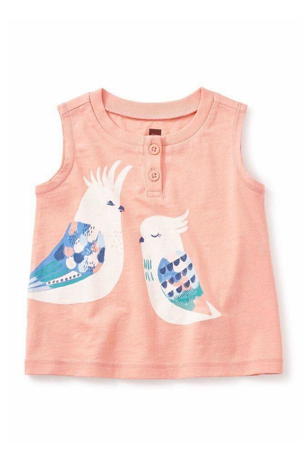 Tea Collection Corella Graphic Henley - Main Image
