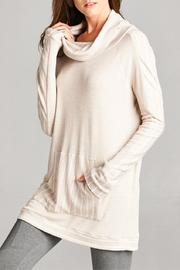 Tea n Rose Cowl Neck Theremal Top - Product Mini Image