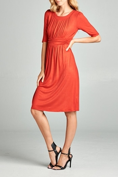 Tea n Rose Ruched Dress - Alternate List Image