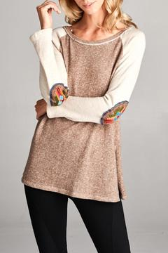 Shoptiques Product: Two Toned Top