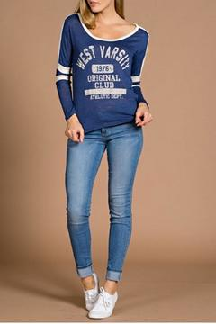 Tea n Rose Varsity Sweatshirt - Alternate List Image