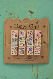 Natural Life Teacher Happy Clips - Product Mini Image