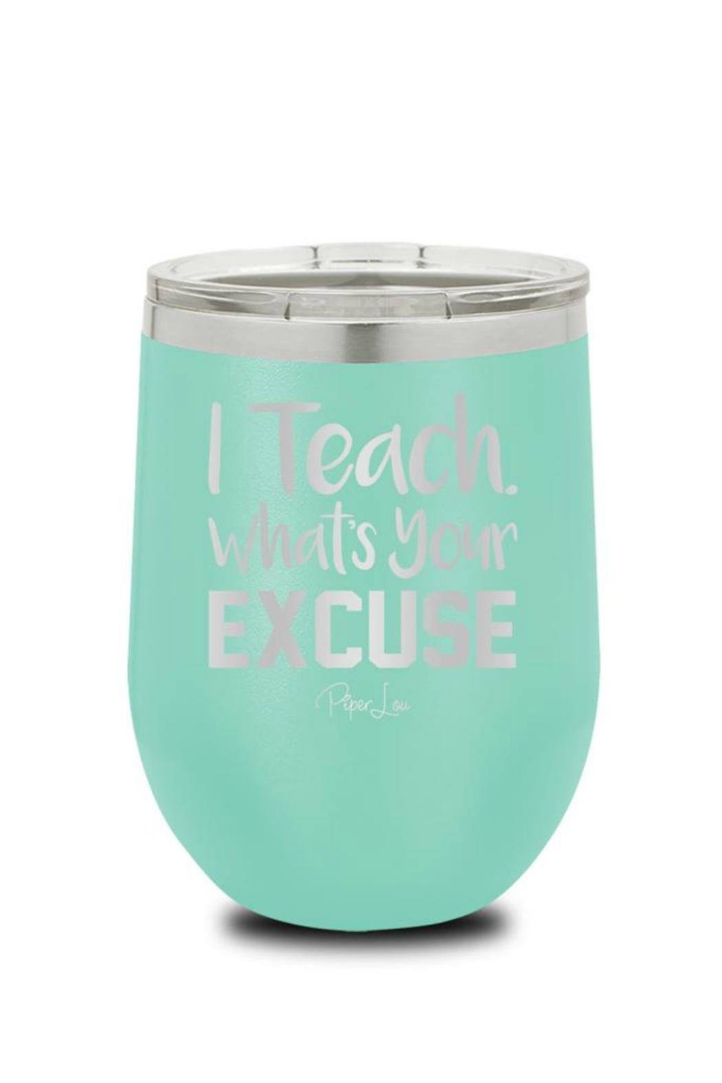 Piper Lou Teacher Wine Cup - Front Cropped Image