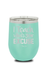 Piper Lou Teacher Wine Cup - Front cropped