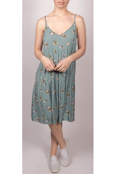 Final Touch Teal Babydoll Dress - Product List Image