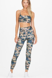 Upside Teal Camouflage Legging - Front cropped