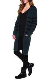 Dex Teal Duster Cardigan - Product Mini Image