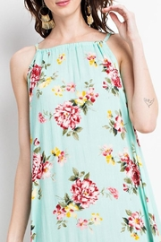 easel Teal Floral Maxi - Product Mini Image
