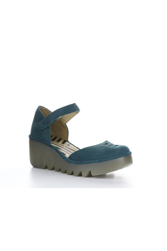 Fly London Teal Mary Jane on Rubber Sole - Alternate List Image