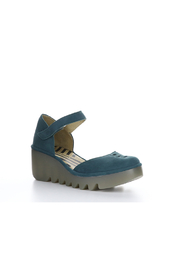 Fly London Teal Mary Jane on Rubber Sole - Product Mini Image