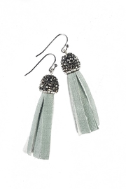 Fabulina Designs Teal Tisla Earrings - Product Mini Image