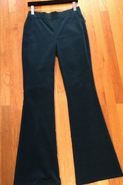 Cartise Teal Velvet Jeans - Product Mini Image