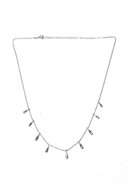 Lets Accessorize Tear-Drop Charm Necklace - Product Mini Image