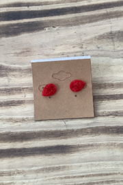 Kindred Mercantile  Tear Drop Stud Earrings - Front cropped