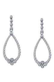 Lafonn Teardrop Earrings - Front cropped
