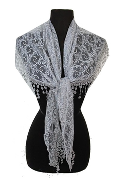 Shoptiques Product: Teardrop Fashion Scarf