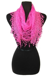 Cap Zone Teardrop Fashion Scarf - Product Mini Image