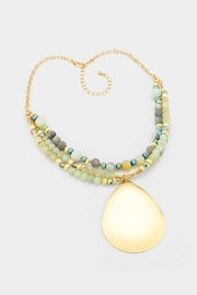 Wild Lilies Jewelry  Teardrop Pendant Necklace - Front cropped
