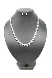 Nadya's Closet Teardrop Statement Necklace-Set - Product Mini Image