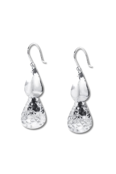 Diana Teardrop Textured Earrings - Product List Image