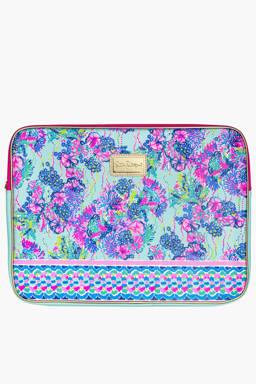 Lilly Pulitzer  Tech Case Laptop Sleeve - Front Cropped Image