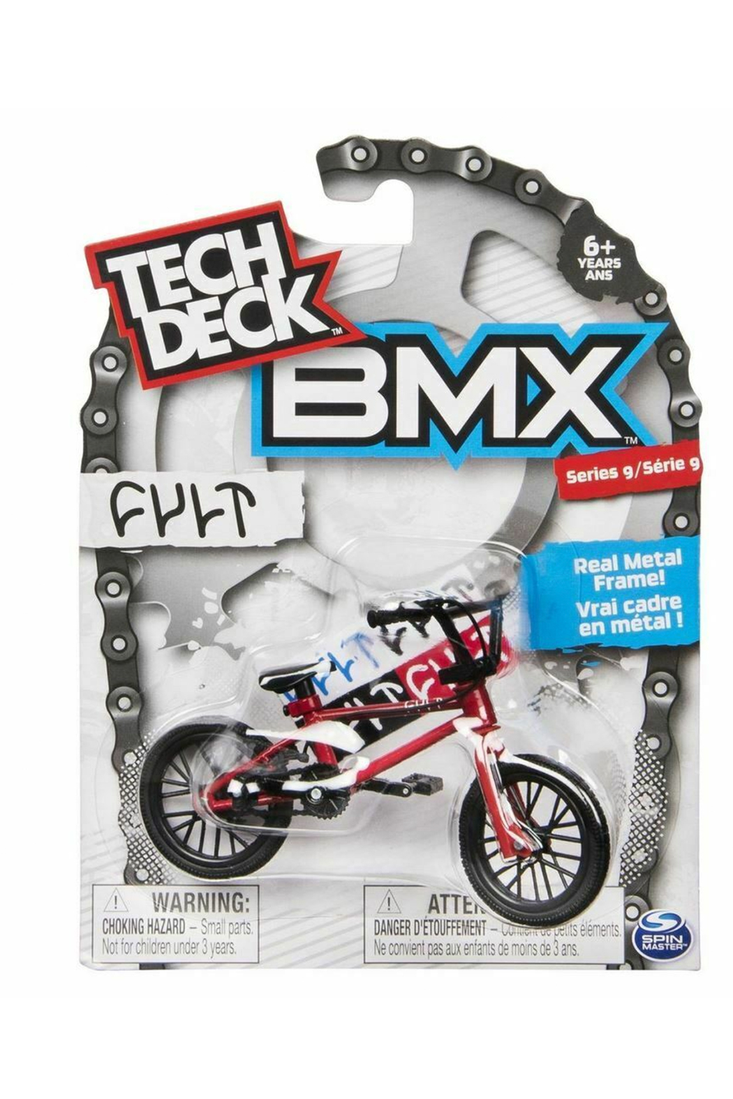 Toysmith Tech Deck BMX Series 11 - Front Cropped Image