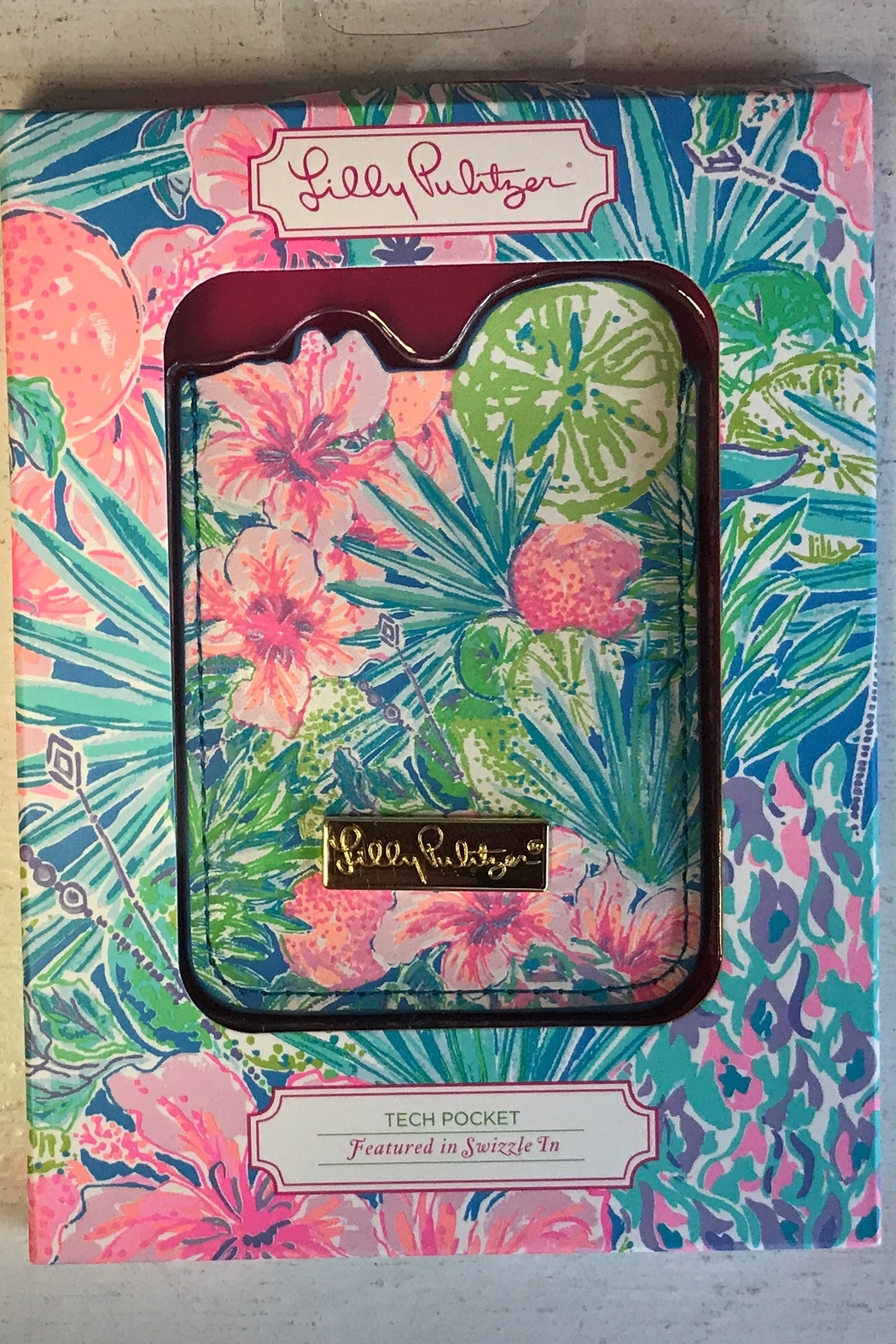 Lilly Pulitzer  Tech Pocket - Front Cropped Image