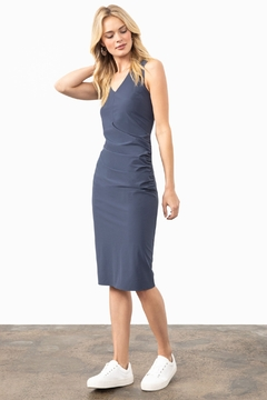 Nic + Zoe Tech Stretch Rouch Dress - Product List Image