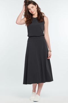 Nic + Zoe  Tech Stretch Skirt with silky-smooth finish - Product List Image