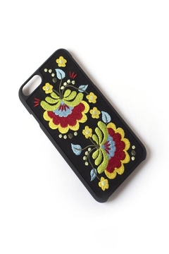 Shoptiques Product: Iphone Embroidery Case