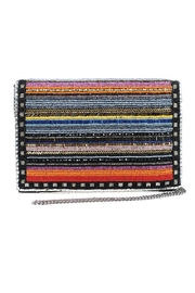 Mary Frances Technicolor Beaded Clutch - Product Mini Image