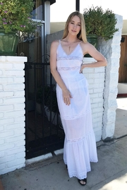 Holy Caftan Tecla Lace Tank - Front full body