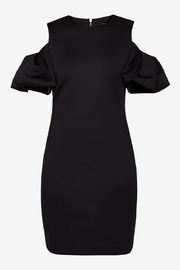 Ted Baker Cold Shoulder Dress - Back cropped